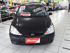 Focus Sedan 2008 Automatico Completo Ac Troca Financio