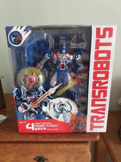 Transformers Optimus Prime Com 30 Cm De Altura