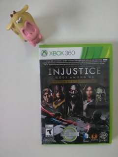 Injustice Gods Among Us Ultimate Edition Xbox 360 Garantía