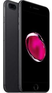 iPhone 7plus Preto Matte - Impecável/ Na Garantia