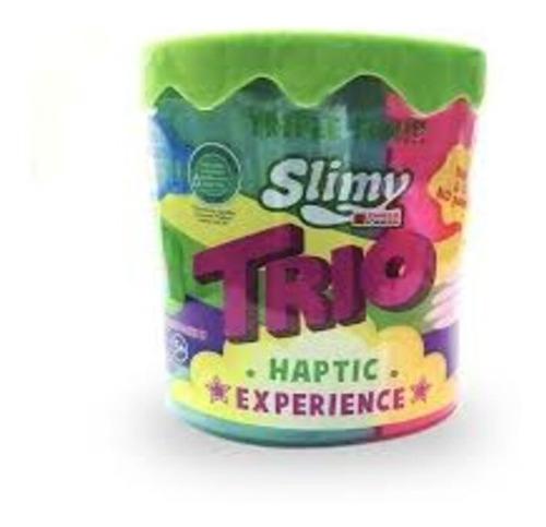Masa Slimy Formula Trio  Pegajosa 3 Colores 500g  Edu