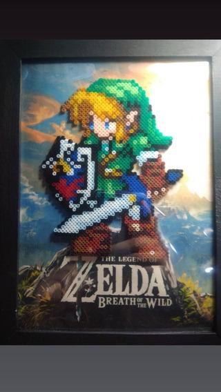 Quadro De Hamas Beards Personagens Link Do Jogo Zelda.