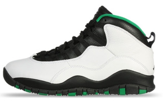 Jordan 10 Retro Seatle Originales 27.5 Cm