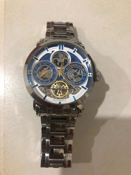 Precioso Reloj Stuhrling Con Maquinaria Automática