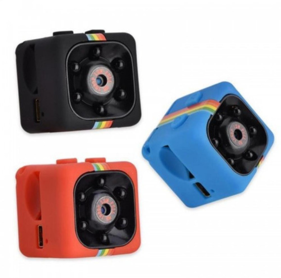Mini Dv Câmera Espiã Visão Noturna Full Hd 1080p Carro Sq11