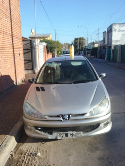 Peugeot 206 1.9 5p Diesel Muy Bueno!! Urgente X Cuarentena