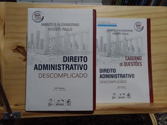 Livros: D. Administrativo Descomplicado + D. Constitucional
