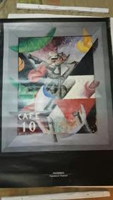 Poster 68x95 Gino Severini 1913 Italia Palazzo Grassi Origin