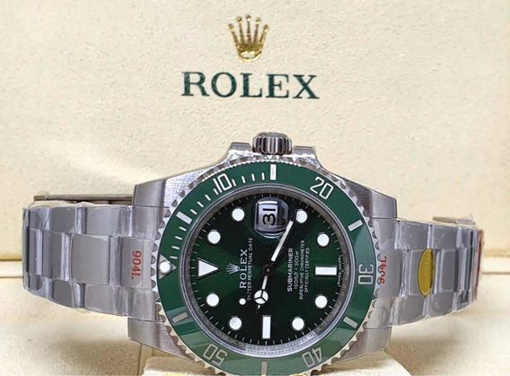 Relógio Submariner Green Hulk Eta 3135