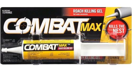 Imagen 1 de 1 de Combat Max Gel 60gr Veneno Mata Cucarachas