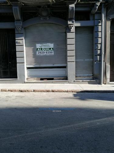 J.s Alquiler Local Comercial En Ciudad Vieja