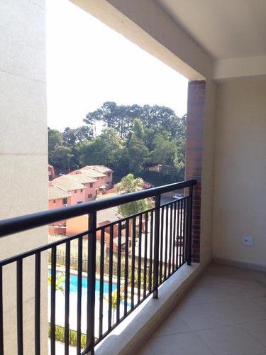 Apartamento Em Granja Viana, Cotia/sp De 72m² 3 Quartos À Venda Por R$ 470.000,00 - Ap94936