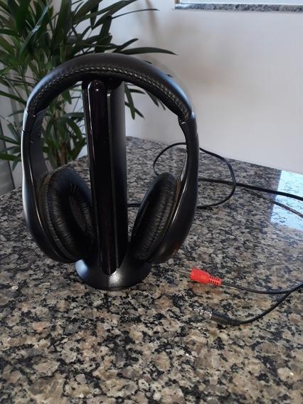 Fone De Ouvido Sem Fio Com Transmissor Analógico