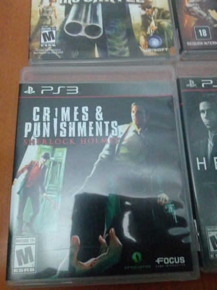 Sherlock Holmes Crimes And Punishments - Mídia Física