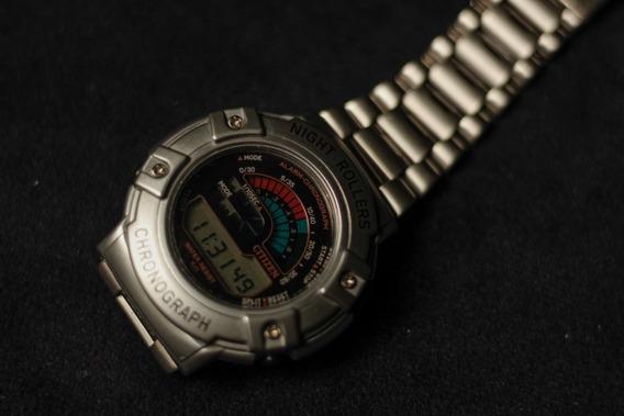 Relógio Citizen Night Roller Mc4000-51e - Masculino