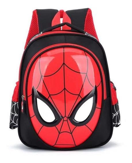 Mochila Infantil Homem Aranha Crianças Spider Man