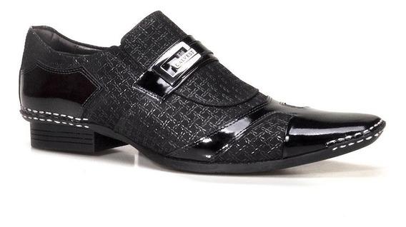 Sapato Social Masculino Calvest Artesanal Em Couro