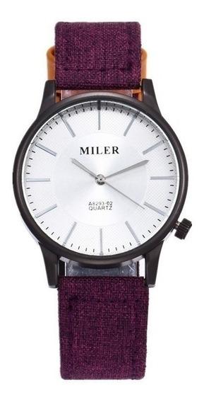 Relógio De Pulso Marca Miler Original Modelo A Masculino Esportivo Importado