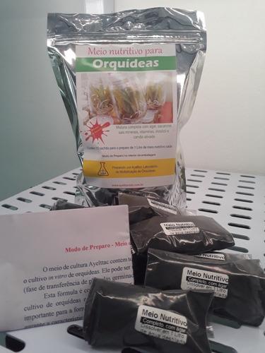 Meio De Cultura Para Orquídeas - Contém Ágar