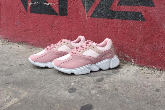 Tênis Sneaker Rose Ref: C529908