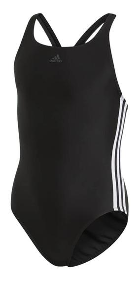 Maiô Infantil Menina adidas Athly 3-stripes Dq3319