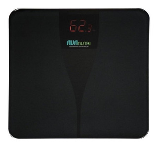 Balança corporal digital Avanutri Digital Premium preta