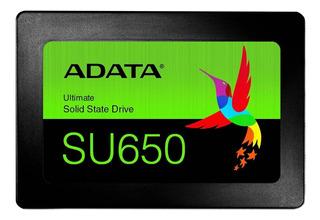 Disco sólido interno Adata Ultimate SU650 ASU650SS-240GT-R 240GB negro