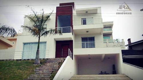Imagem 1 de 27 de Sobrado Residencial À Venda, Condomínio Hills Iii, Arujá. - So0290