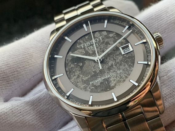 Relógio Tissot Luxury Powermatic 80 Automatic Anthracite