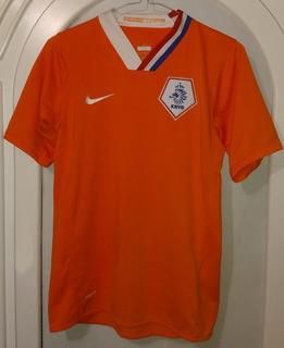 Jersey Seleccion Holanda Nike Año 2008 Talla Juvenil 12-14