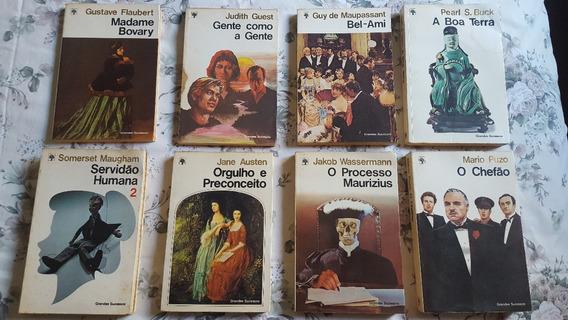 Coleção Grandes Sucessos Abril - 8 Livros - 9 Volumes
