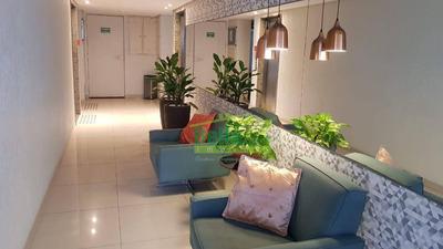 Apartamento Top - Mobiliado - Com 2 Dormitórios À Venda, 62 M² Por R$ 360.000 - Rosarinho - Recife/pe - Ap1294
