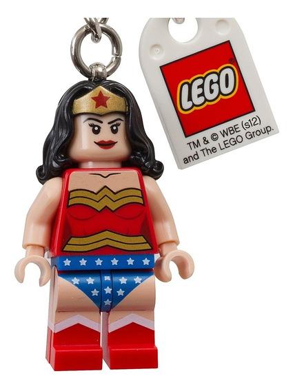 Lego Chaveiro Super Heroes - Mulher Maravilha