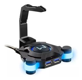 Mouse Bungee Gamer Warrior Hub 4 Portas Usb 3.0 Multilaser