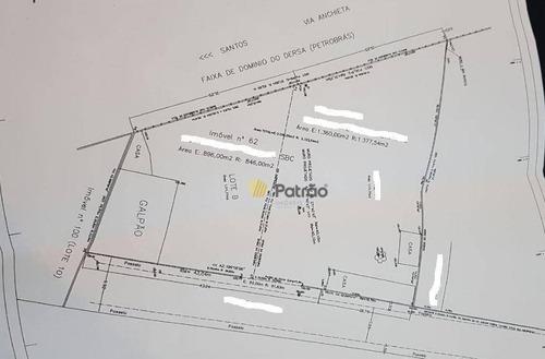 Imagem 1 de 26 de Terreno Para Alugar, 2256 M² Por R$ 10.500,00/mês - Jardim Do Mar - São Bernardo Do Campo/sp - Te0261