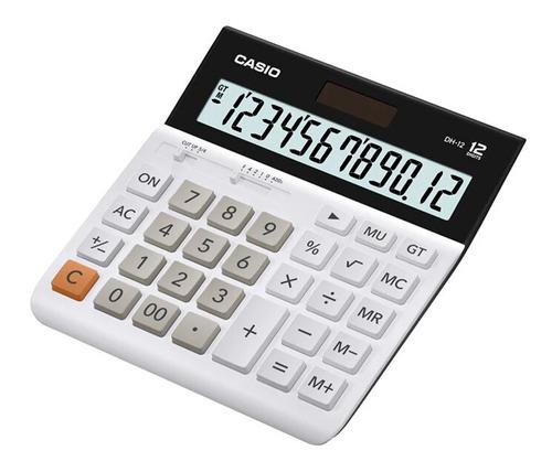 Calculadora Casio Oficina Y Escritorio Dh-12-we Original