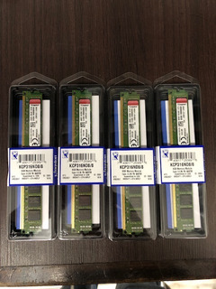 Kingston Memoria Ddr3 Ram 8 Gb Dimm 1600 Mhz Kcp316nd8/8