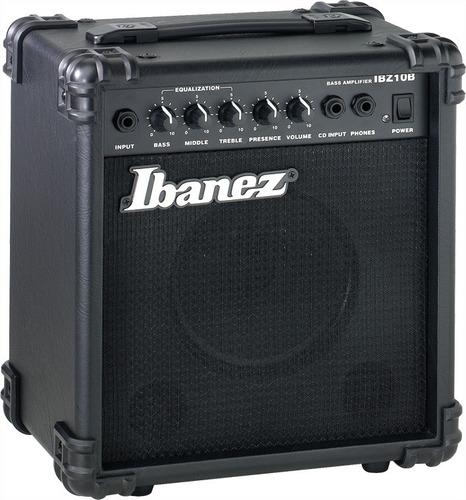 Amplificador De Bajo Ibanez Ibz10 10w