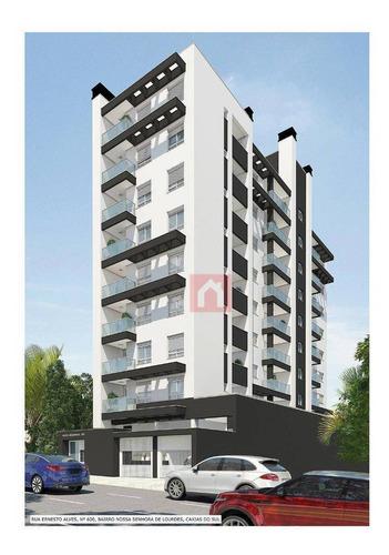Apartamento À Venda, 55 M² Por R$ 279.000,00 - Nossa Senhora De Lourdes - Caxias Do Sul/rs - Ap0199