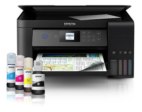 Impressora Multifuncional Epson Ecotank L4160 Tanque Tinta