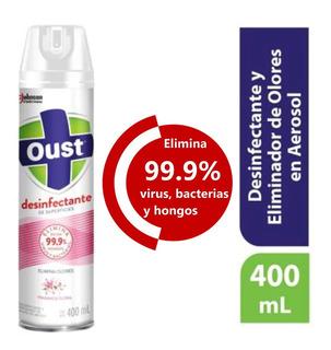 Oust Desinfectante 400ml Virus, Hongos Y Bacterias Floral