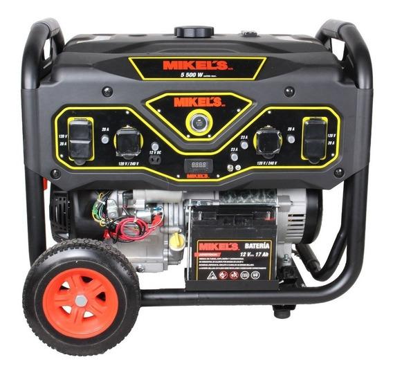 Generador Corriente Electrica 5500 W / 13 Hp Mikels