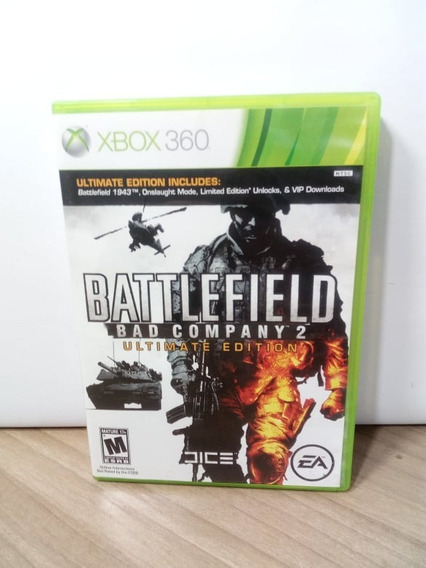 Battlefield Bad Company 2 Ultimate Edition Xbox 360 Usado
