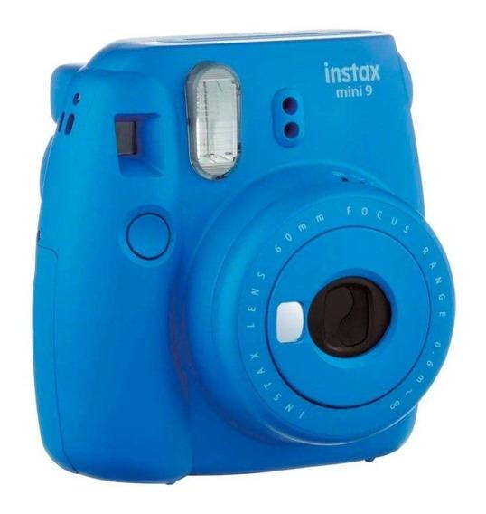 Câmera Fujifilm Instax Mini 9 Azul Cobalto 705061152