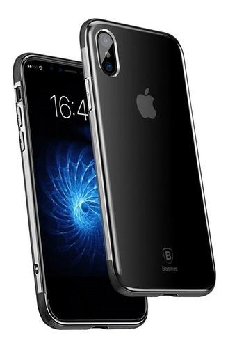 Imagem 1 de 4 de Capa Para iPhone X / Xs Armor Baseus Black
