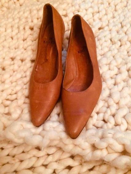 Zapato Clásico 36 Cuero