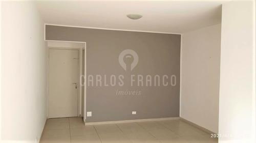 Imagem 1 de 15 de Apartamento 76mts 2 Dorm 1 Suíte Granja Julieta - Cf69455