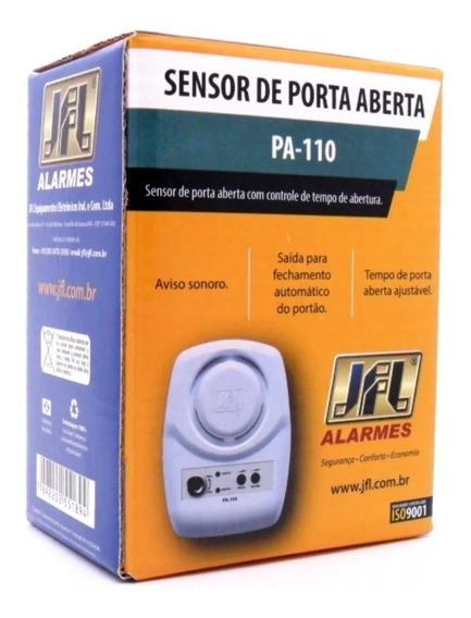 Sensor Anunciador De Porta Aberta Jfl Pa 110 - 127/220 Vac
