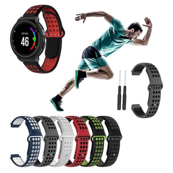 Pulseira Silicone Garmin Forerunner 230 Estilo Nike Esportiv