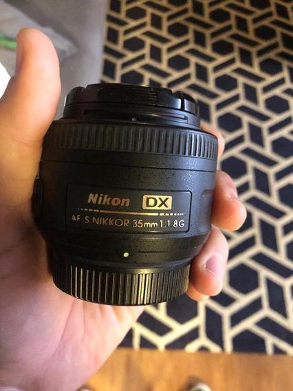 Lente Nikon - Afs Nikkor 35mm 1:1.8g